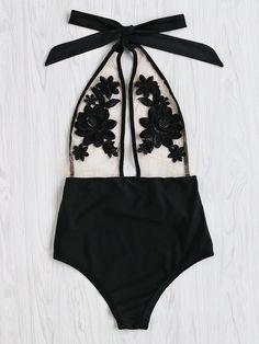 f88efac327 Off the Shoulder Fishnet Overlay Bikini Set 4pack in 2019 | Bikini's ...