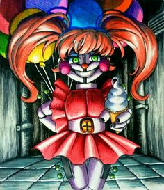 Harmless sweet for you. How about ice cream / FNaF SL Fnaf 5, Anime Fnaf, Markiplier Fnaf, Sister Location Baby, Baby Sister, Freddy S, Fnaf Baby, Circus Baby, Fnaf Characters