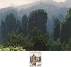 Swap (2018/167) - Arrived: 2018.05.22 ---  Wulingyuan is a scenic and historical site in south-central China's Hunan Province. It was inscribed as a UNESCO World Heritage Site in 1992. It is more than 3,000 quartzite sandstone pillars and peaks across most of the site, many over 200 metres in height, along with many ravines and gorges with attractive streams, pools, lakes, rivers and waterfalls.