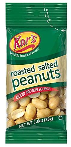 Kar's Nuts Salted Peanuts, 1-Ounce Bags (Pack of 100) ** Don't get left behind, see this great product offer  : baking desserts recipes