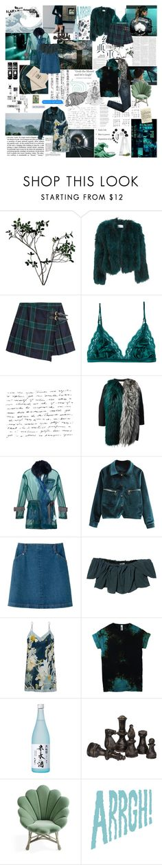"""""""what happened between you two"""" by the-clary-project ❤ liked on Polyvore featuring Abigail Ahern, Saks Potts, Burberry, STELLA McCARTNEY, Fendi, Sacai, A.P.C., Kenzo, Carine Gilson and INC International Concepts"""