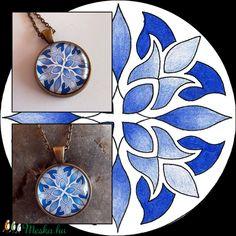 Mandalás nyaklánc (kedo) - Meska.hu Pocket Watch, Pendant Necklace, Accessories, Jewelry, Mandalas, Jewlery, Bijoux, Jewerly, Pocket Watches