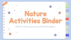 Powerpoint Game Templates, Free Powerpoint Presentations, Microsoft Powerpoint, Interactive Presentation, Presentation Design, Ppt Themes, Nature Activities, Slide Design, Fun Workouts