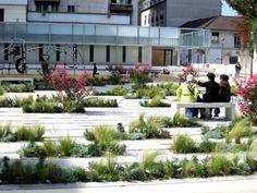 Entre place et jardin – Agence Babylone #UrbanLandscape
