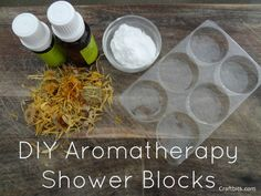 DIY Aromatherapy Shower Blocks — craftbits.com