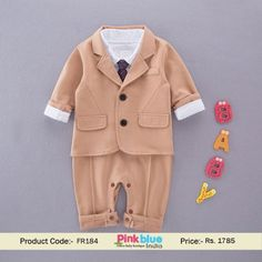 825bd97b6 98 Best Baby Boy Romper Suits images in 2019