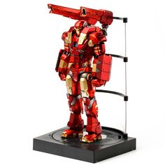 Iron Man Plasma Cannon and Vibroblade Light-Up Action Figure