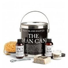 The Man Can Gift Basket - Gift Basket for Men - Happy Birthday Gift Basket - Birthday Gifts for For Him by Plum Island Soap Company Valentine Gift Baskets, Valentine's Day Gift Baskets, Birthday Gift Baskets, Happy Birthday Gifts, Valentine Day Gifts, Christmas Gifts, Basket Gift, Funny Christmas, Birthday Presents