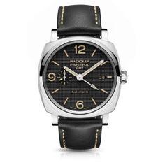 Luxury Panerai Radiomir 1940 3 Days GMT Automatic Acciaio Hobnail Watch PAM00627