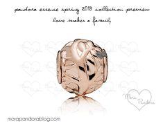 Pandora Essence Rose 2018 preview Pandora Bracelet Charms, Pandora Jewelry, Charm Bracelets, Mora Pandora, Pandora Essence, Pandora Collection, Pin Pics, Internet, Pandoras Box