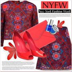 NYFW - what to pack by chloe on Polyvore featuring Sandro, Chanel, Rebecca Minkoff, Urban Decay, Avenue, NYFW, polyvorecontest and newyorkfashionweek