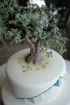 fondant olive tree