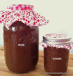 Just One Mom Trying: Holiday Chocolate Fudge Caramel Sauce