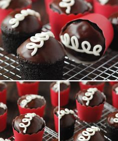 How to Make 'Hostess Cupcakes' At Home