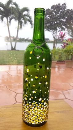 Bubbling Recycled Wine Bottle Incense Burner / by CreationsByTia, $19.99