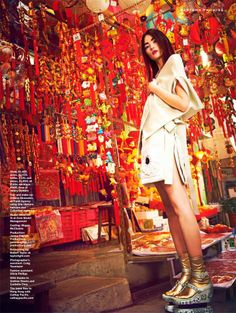 miao bin si for stylist magazine s/s 2013.