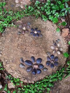 Mosaic Garden Stepping Stone...For Sarah.