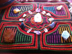 my crystal grid for happy home