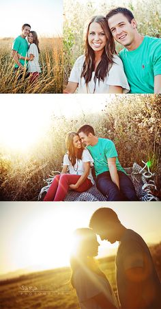 I like the bottom one as a wedding day picture idea