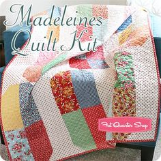 Madeleines Quilt Kit Featuring Bread 'n Butter by American Jane  | Fat Quarter Shop