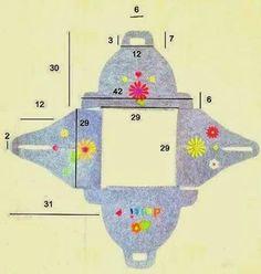 SCICCOSERIE: Agendine beneauguranti, decorazioni da appendere e porta torta in feltro (misure)