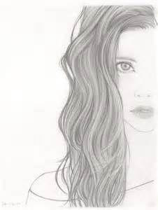 beautiful, drawing, drawings, girl, love, sad, scared, sketch, strange Plus