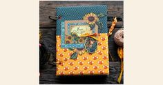 Hello, G45ers!Thanks for joining us today for a fabulous French Country - Deluxe Collector's EditionCook Book byElena Olinevich. Elena's beautiful book is the perfect project to showcase this collection, and her YouTube tutorial will help you celebrate the joy of crafting and cooking. We love th