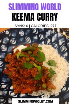 This Slimming World keema curry recipe is super simple, and is a great go-to for an easy midweek dinner! astuce recette minceur girl world world recipes world snacks Slimming World Keema Curry, Slimming World Fakeaway, Slimming World Dinners, Slimming World Recipes Syn Free, Slimming Eats, Slimming World Vegetable Curry, Slimming World Minced Beef Recipes, Italian Carbonara Recipe, Curry Recipes