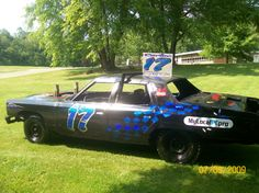 cool car second lucky number Weird Cars, Cool Cars, Crazy Cars, Demolition Derby Cars, Car Paint Jobs, Fun Hobbies, Car Painting, Chevy Trucks, Country Girls