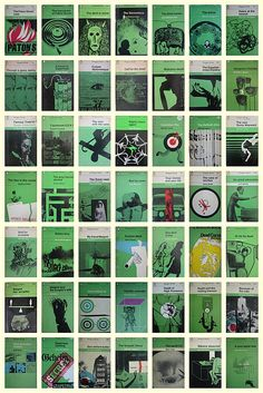 Penguin crime book covers by apenguinaweek, via Flickr