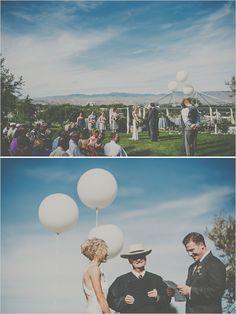 Vintage Glam Backyard Wedding