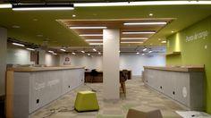 CRAI. URosario - David Delgado Arquitectos - Diseño de Iluminación Michael Novoa #light #led #office @contemporist @archdailyes