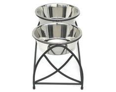 large dog food bowls -