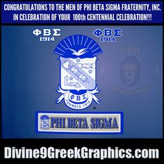 PHI BETA SIGMA FRATERNITY, INC. on Pinterest | Phi Beta ...