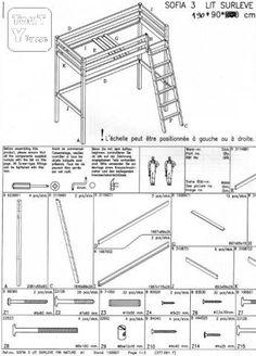 Lit mezzanine 3 pièces - 1 sears.ca | Lits Mezzanines | Pinterest ...