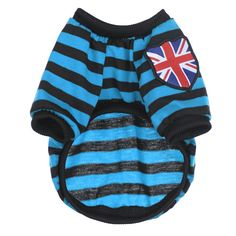 JJ Store Summer Puppy Pet Clothes Dog Top Striped T Shirt Apparel ** Tried it! Love it! Click the image. : Dog shirts