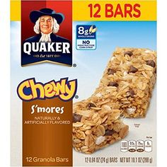 Quaker Chewy Granola Bars  Smores  12ct 2 Pack >>> You can find out more details at the link of the image. (This is an affiliate link and I receive a commission for the sales)
