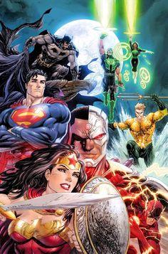 "silentbrownsugar46: "" Justice League #1 VARIANT - TYLER KIRKHAM """