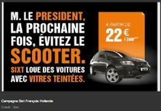 Hollande, Sarkozy, Mitterrand : ces publicités qui se moquent de nos présidents (RTL fr)