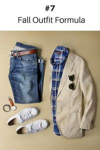 10 Coolest Outfit Formulas You Can Wear This Fall.. #mens #fashion #style