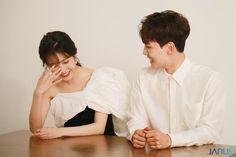 Iu ❤️ Yeo Jin Goo ~ funny and cute moment 'Hotel Del Luna' (호텔 델루나 아이유x여진구) Korean Celebrities, Korean Actors, Celebs, Drama Korea, Korean Drama, Jin Goo, Sulli, Korean Couple, Iu Fashion