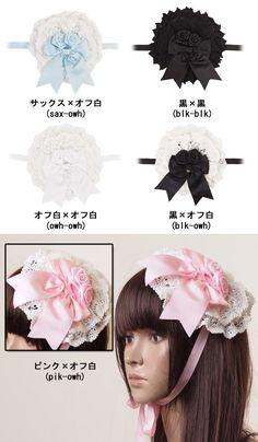 acc1085 - Headdress - LOLITA  $6.16  5 colors available