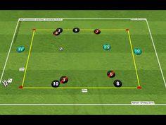 4v4+3 Guardiola - ANIMATION 2 - YouTube Football Training Drills, Soccer Drills, Soccer Coaching, Animation, Youtube, Sports, Soccer, Man Style, Men