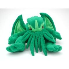 I've always wanted to decorate my room with creepy, but cute, little toys like this Cthulu plushie.  I don't think my husband would understand though :(