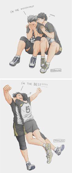 the power of akaashi-chan