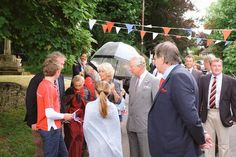 """Clarence House on Twitter: """"Their Royal Highnesses have arrived at today's street party in #Gloucestershire to celebrate #Queenat90!"""