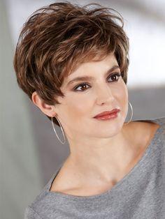 Wavy Short Hairstyles for Thin Hair