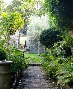 Secret Garden: London antiques dealer Will Fisher's private garden.