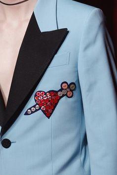 Gucci Menswear AW16-17 detail
