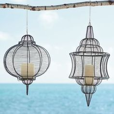 Eclectic Outdoor Lighting by West Elm